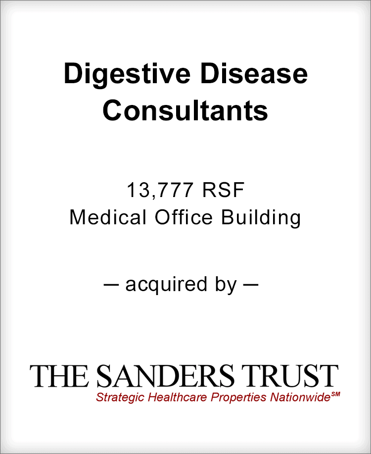Image for BGL Advises Digestive Disease Consultants Transaction