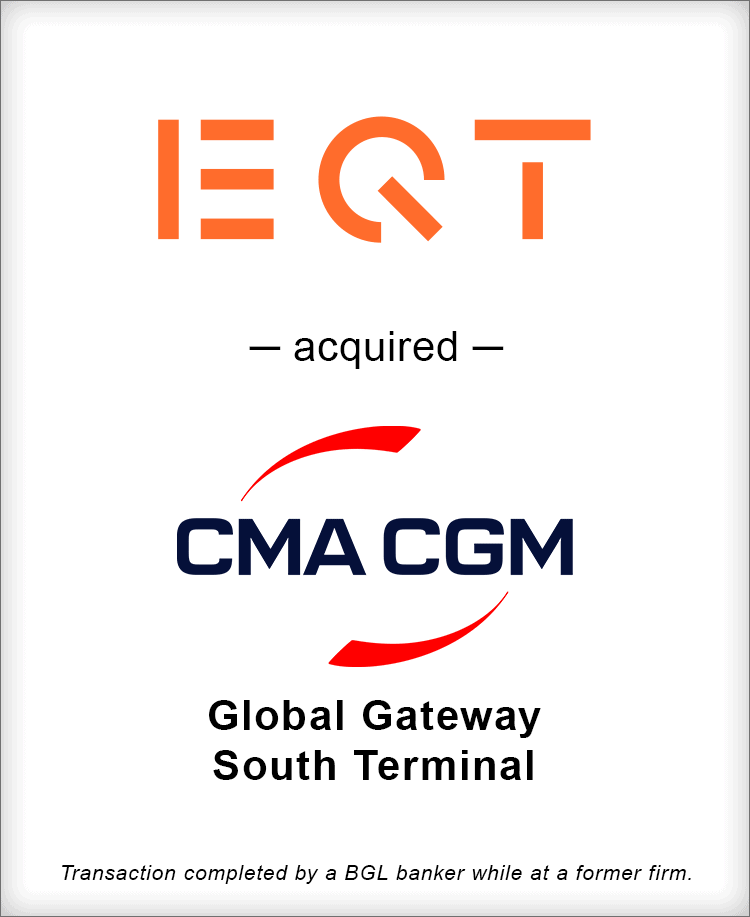 Image for EQT Infrastructure Acquires Majority Interest in Global Gateway South Terminal in Port of Los Angeles Transaction