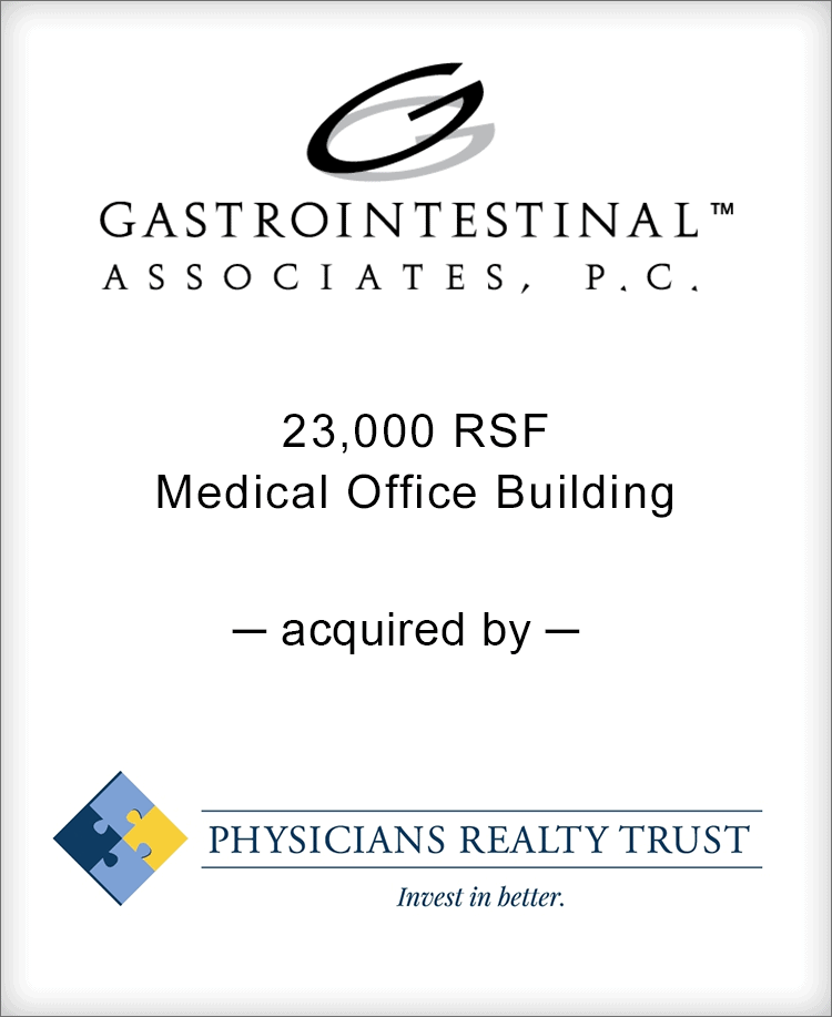 Image for BGL Advises Gastrointestinal Associates Transaction