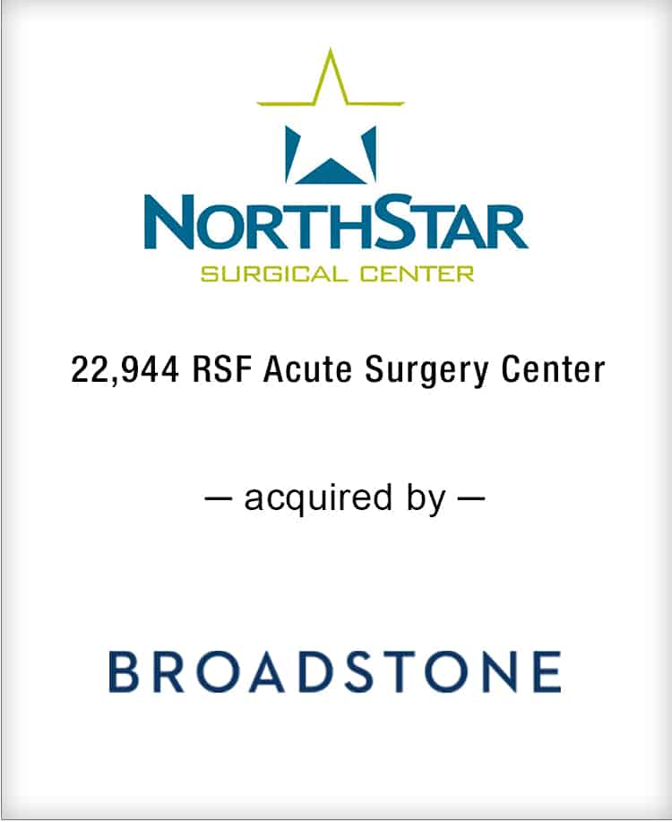 Image for BGL Announces the Real Estate Sale of NorthStar Surgical Center Press Release