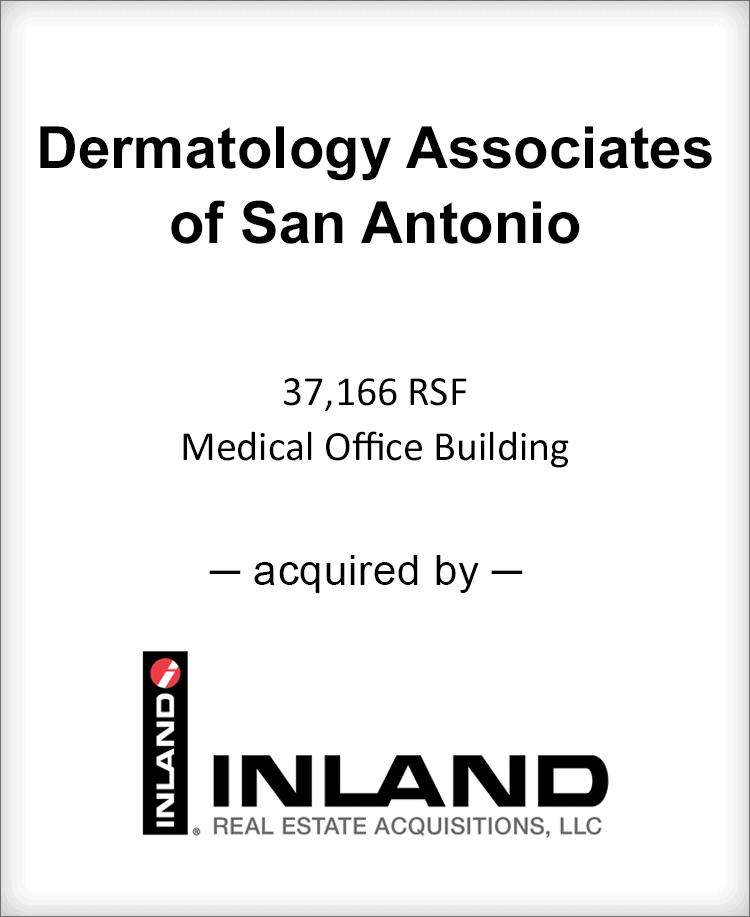 Image for BGL Announces the Real Estate Sale of Dermatology Associates of San Antonio Press Release