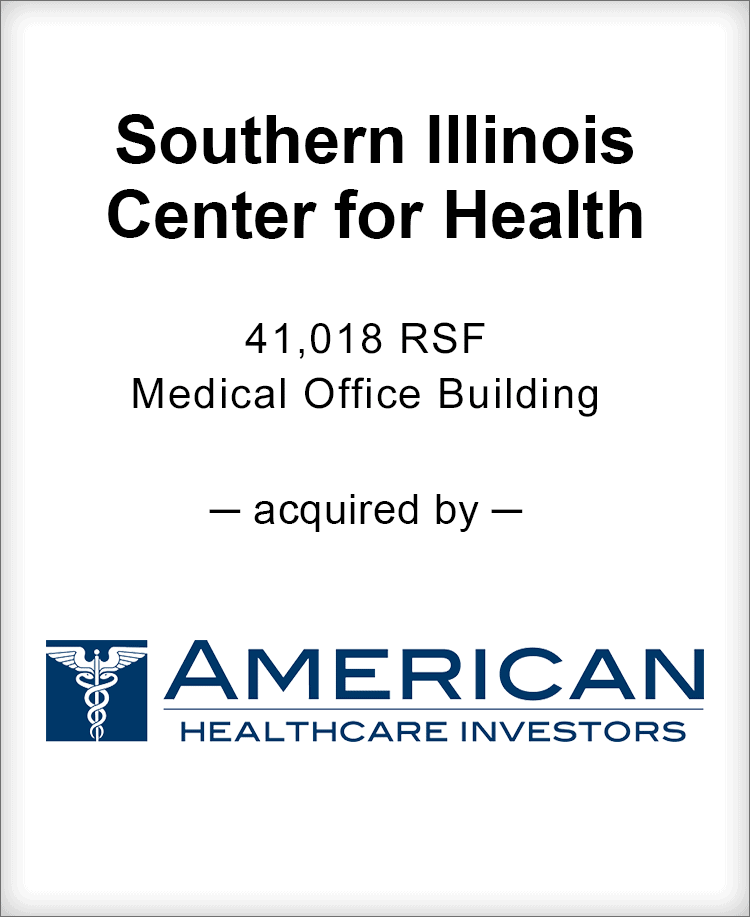 Image for BGL Announces the Real Estate Sale of Southern Illinois Center for Health Press Release