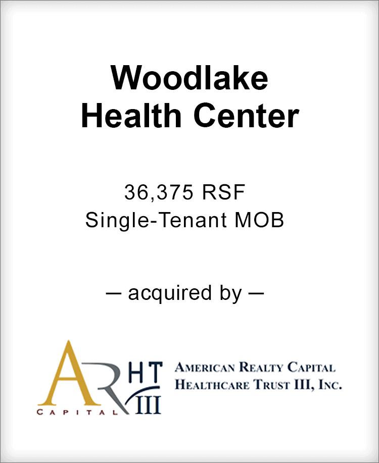 Image for BGL Advises Woodlake Health Center Transaction