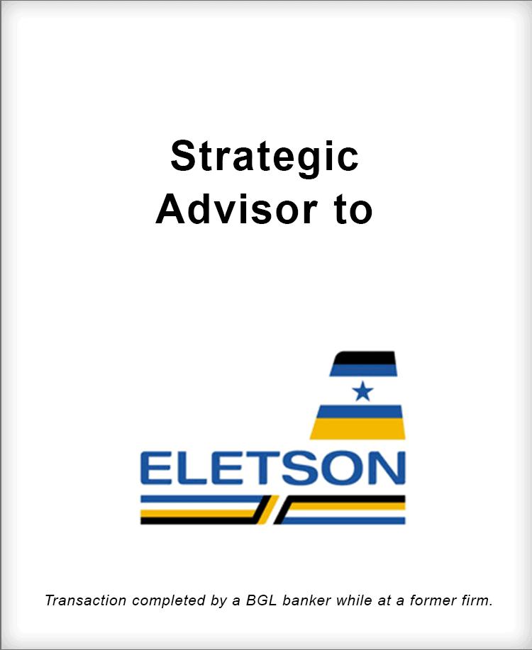 Image for Strategic Advisor to Eletson Transaction
