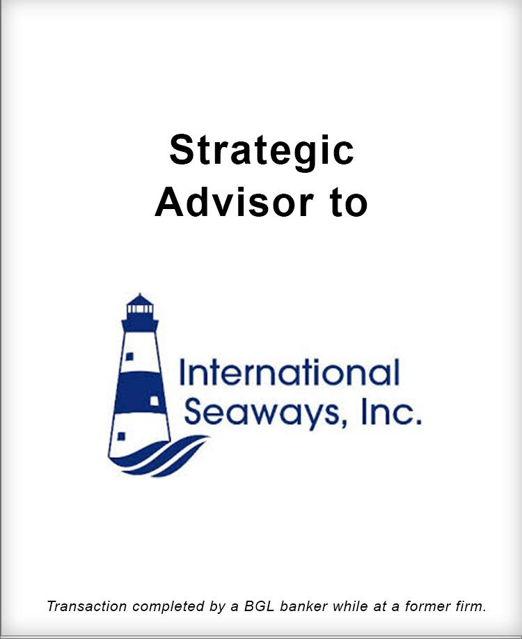 Image for Strategic Advisor to International Seaways, Inc. Transaction