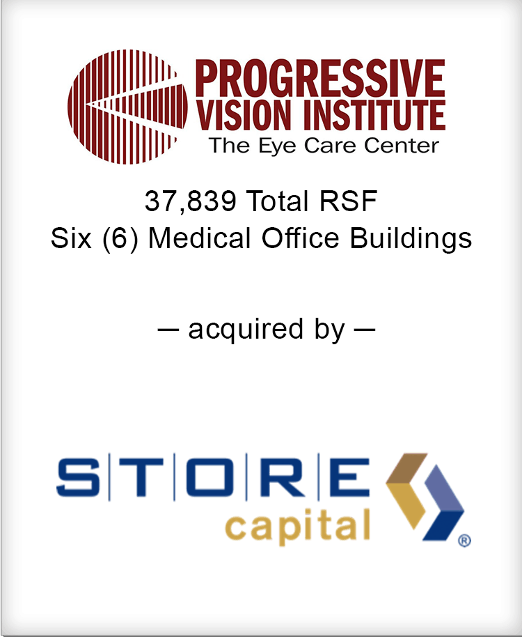 Image for BGL Announces the Real Estate Sale of Progressive Vision Institute Portfolio Press Release