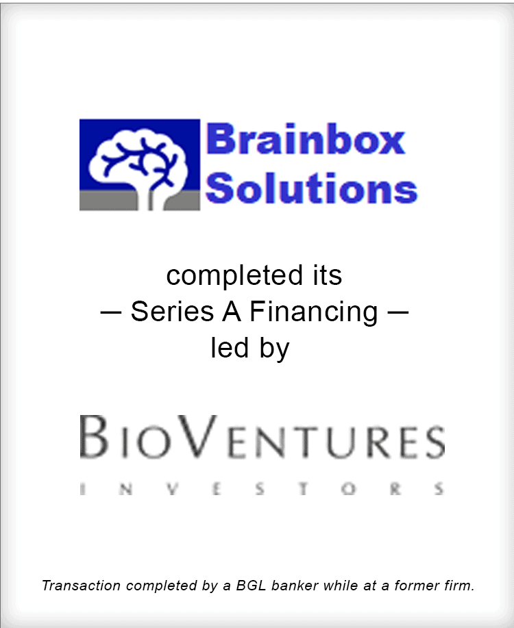 Image for Brainbox Solutions Completes its Series A  Financing led by BioVentures Investors Transaction