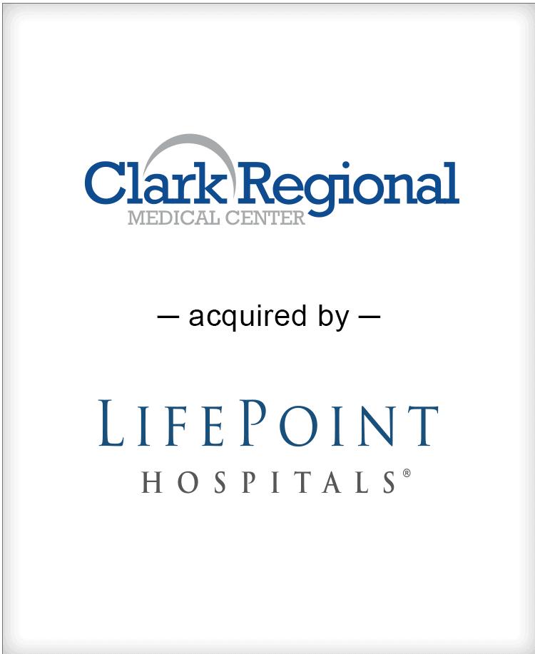 Image for BGL Advises LifePoint Hospitals Transaction
