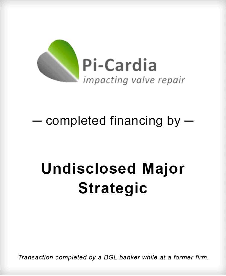 Image for Pi-Cardia Completes $10M Financing Transaction