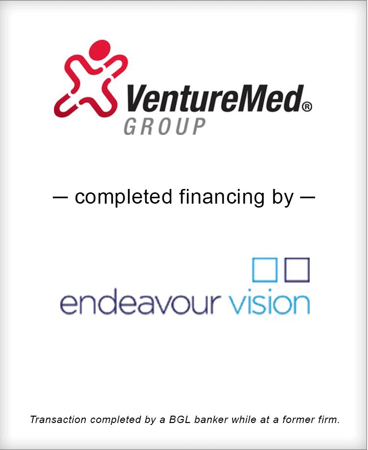 Image for VentureMed Group Completes Financing by Endeavor Vision Transaction