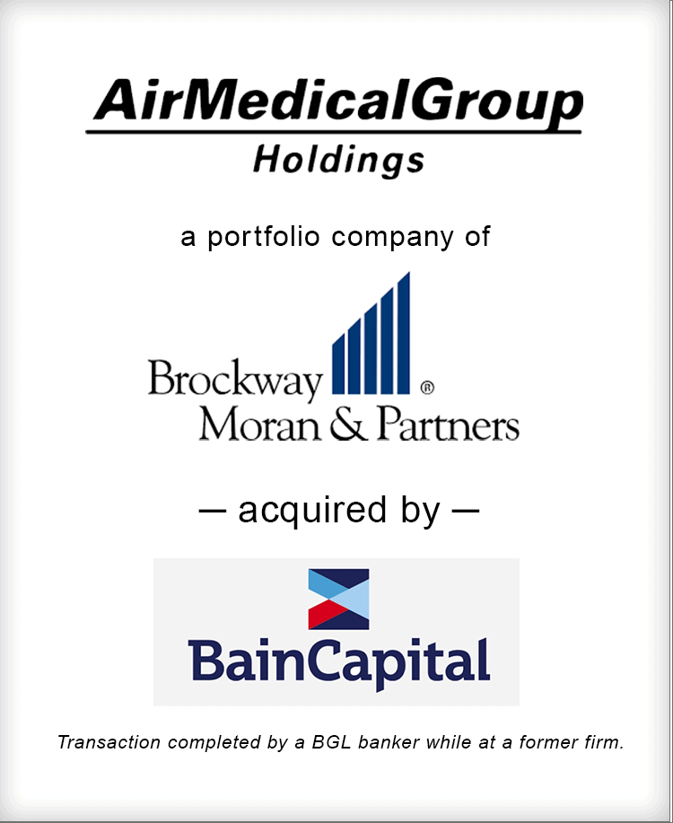 Image for Air Medical Group Holdings Acquired By Bain Capital Transaction