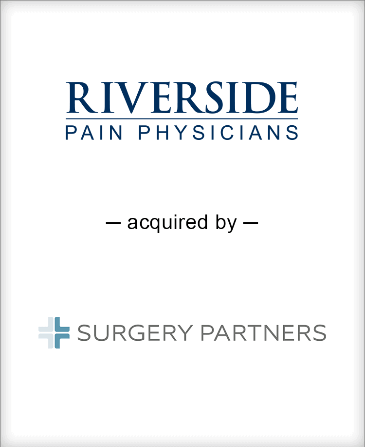 Image for Brown Gibbons Lang & Company Announces the Sale of Riverside Pain Physicians Press Release