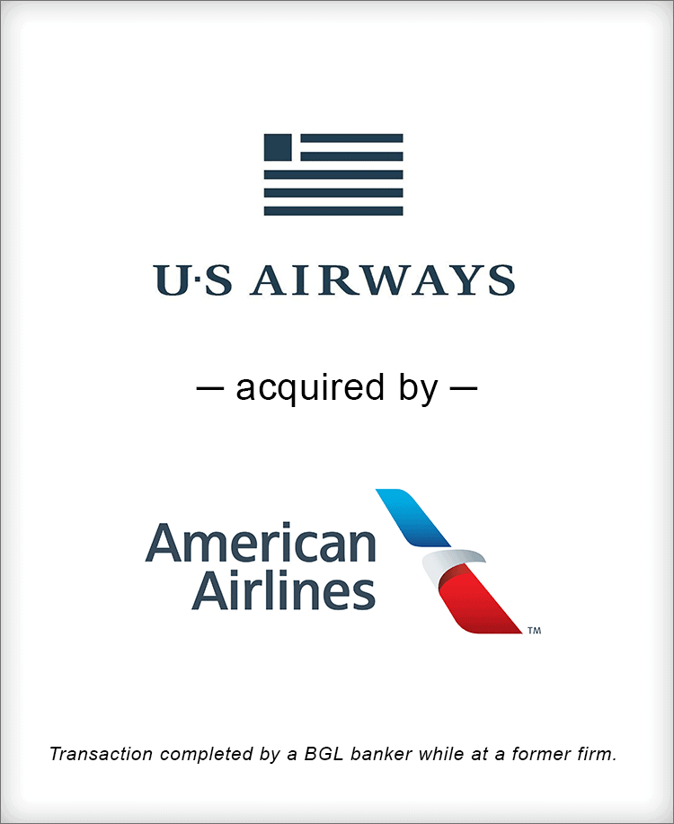 Image for US Airways Acquired By American Airlines Transaction