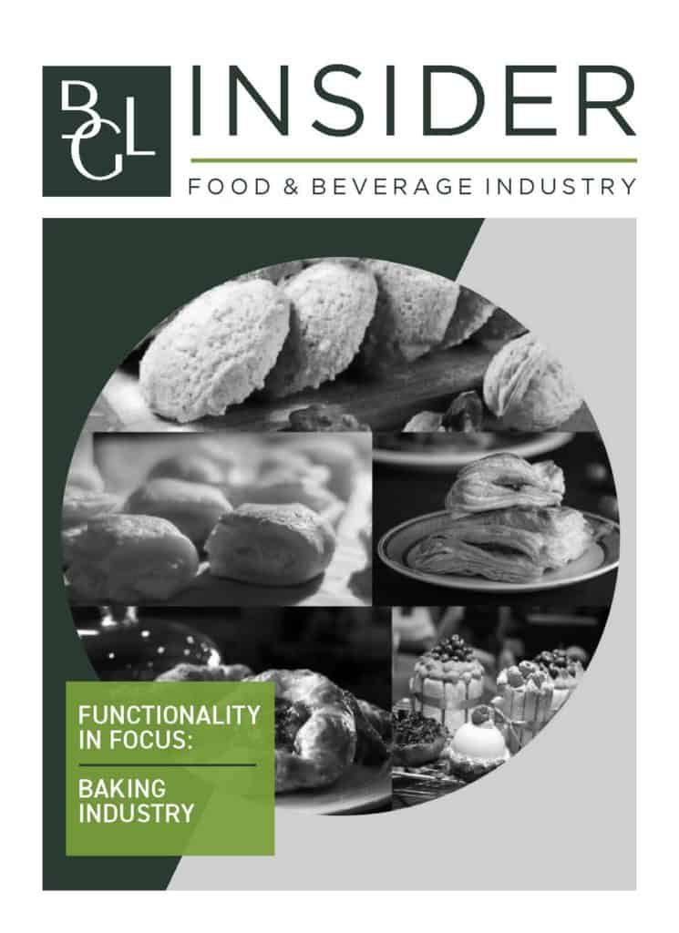 BGL Insider Special Report Food Beverage Baking Industry Cover Image