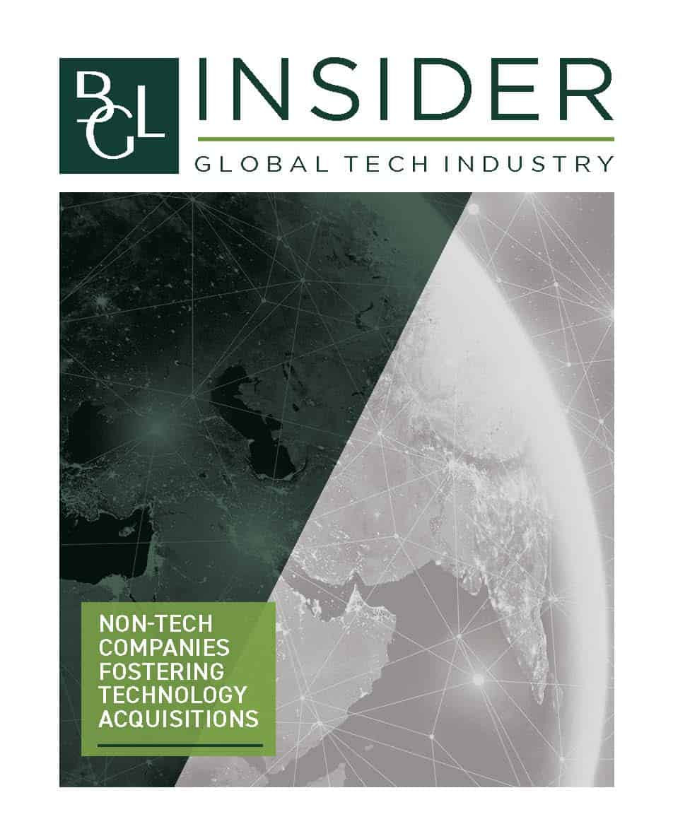 Image for BGL Insider Special Report – Non-Tech Companies Fostering Tech Acquisitions Research