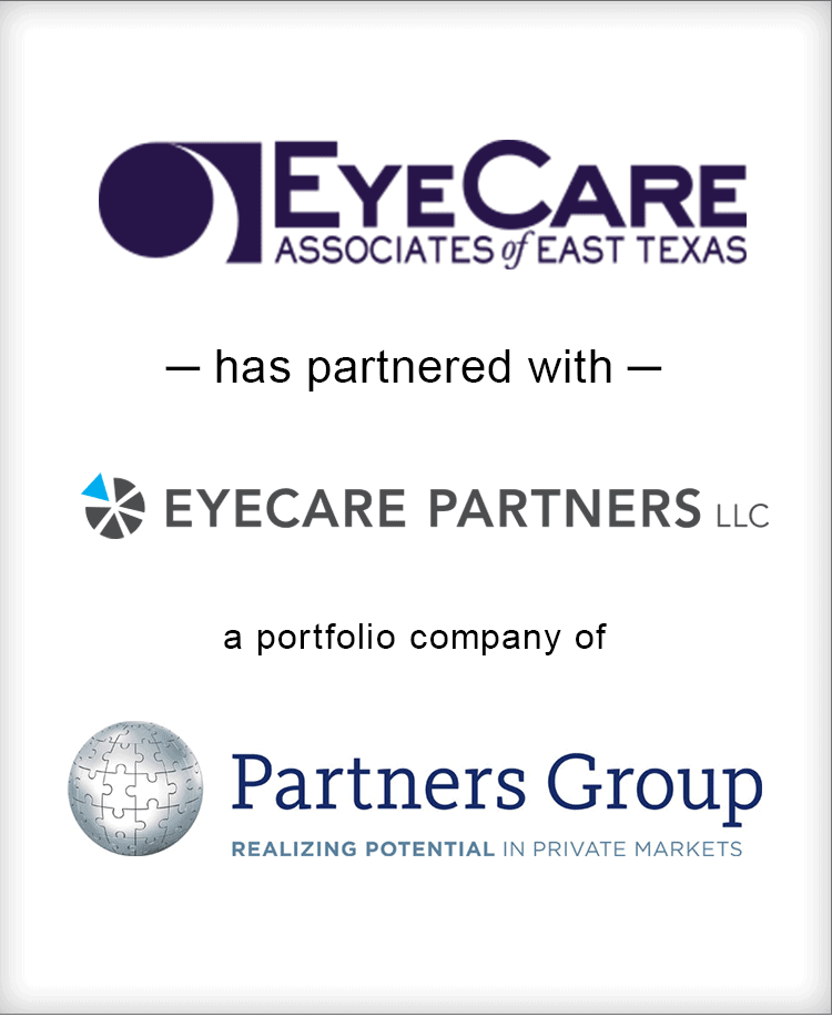 Image for BGL Announces New Partnership Between EyeCare Associates of East Texas and EyeCare Partners, a portfolio company of Partners Group Press Release