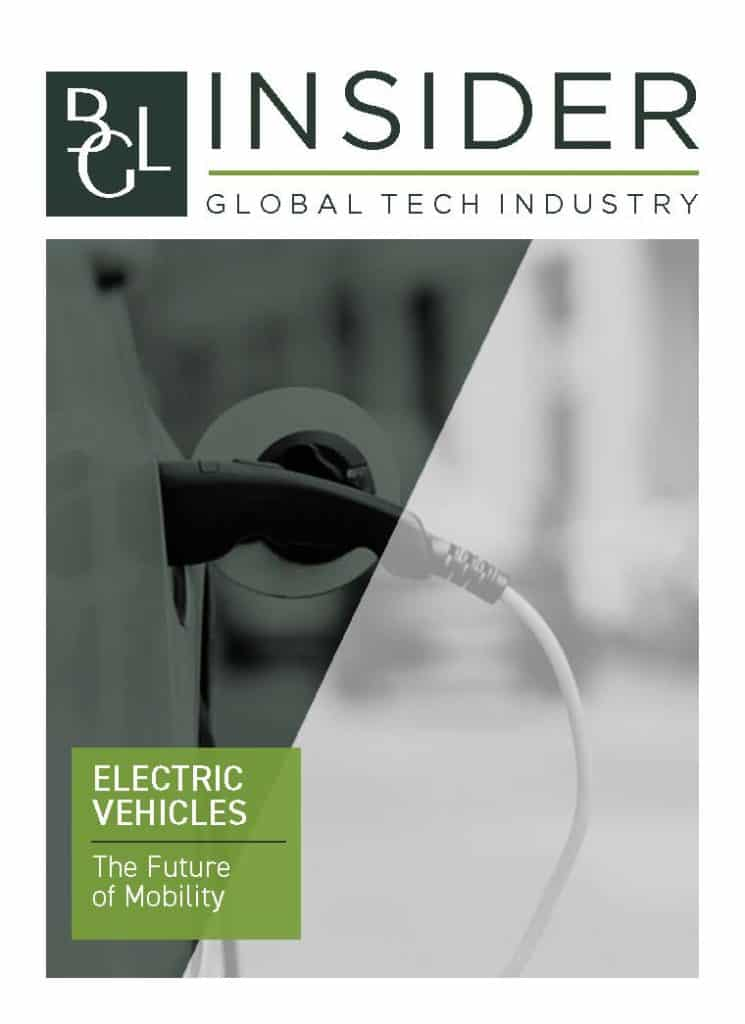 BGL Insider Special Report Industrial Technology Electric Vehicles Cover Image