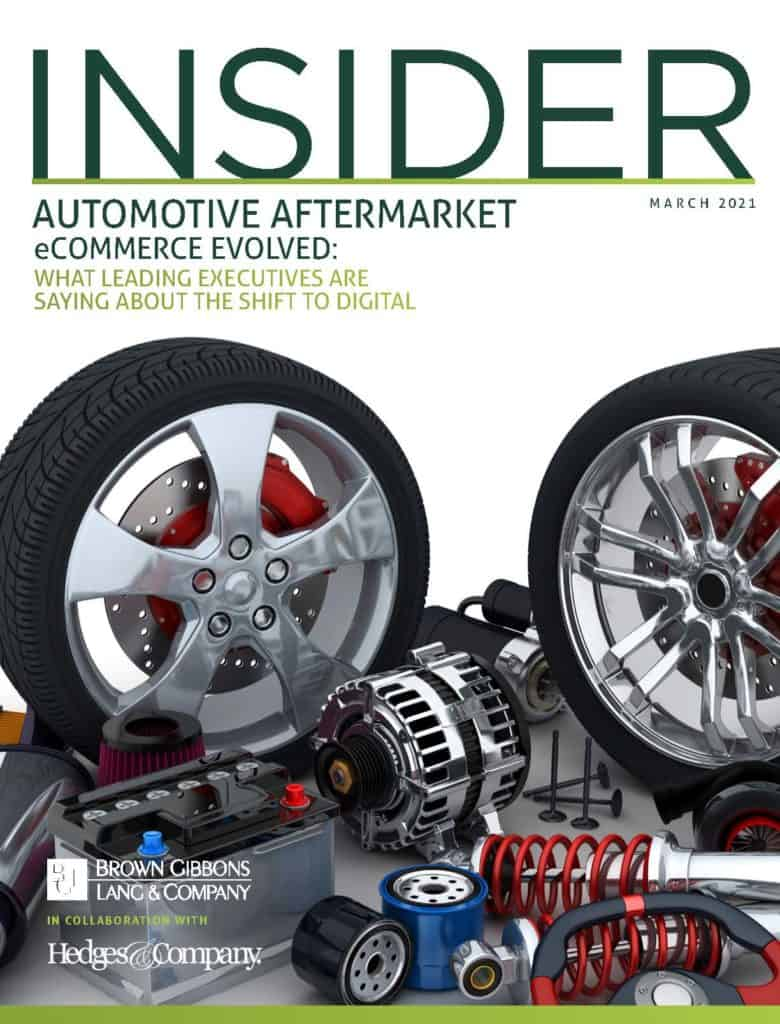 BGL Insider Automotive Aftermarket eCommerce Evolved March 2021 Cover