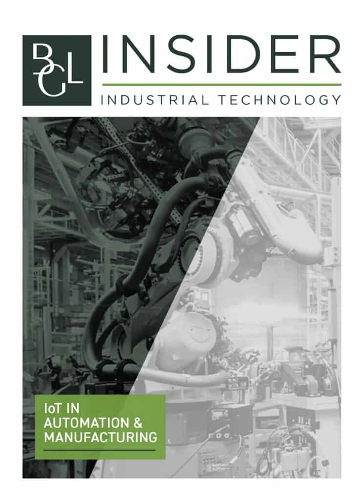 IoT in Automation Manufacturing BGL Newsletter Cover Image