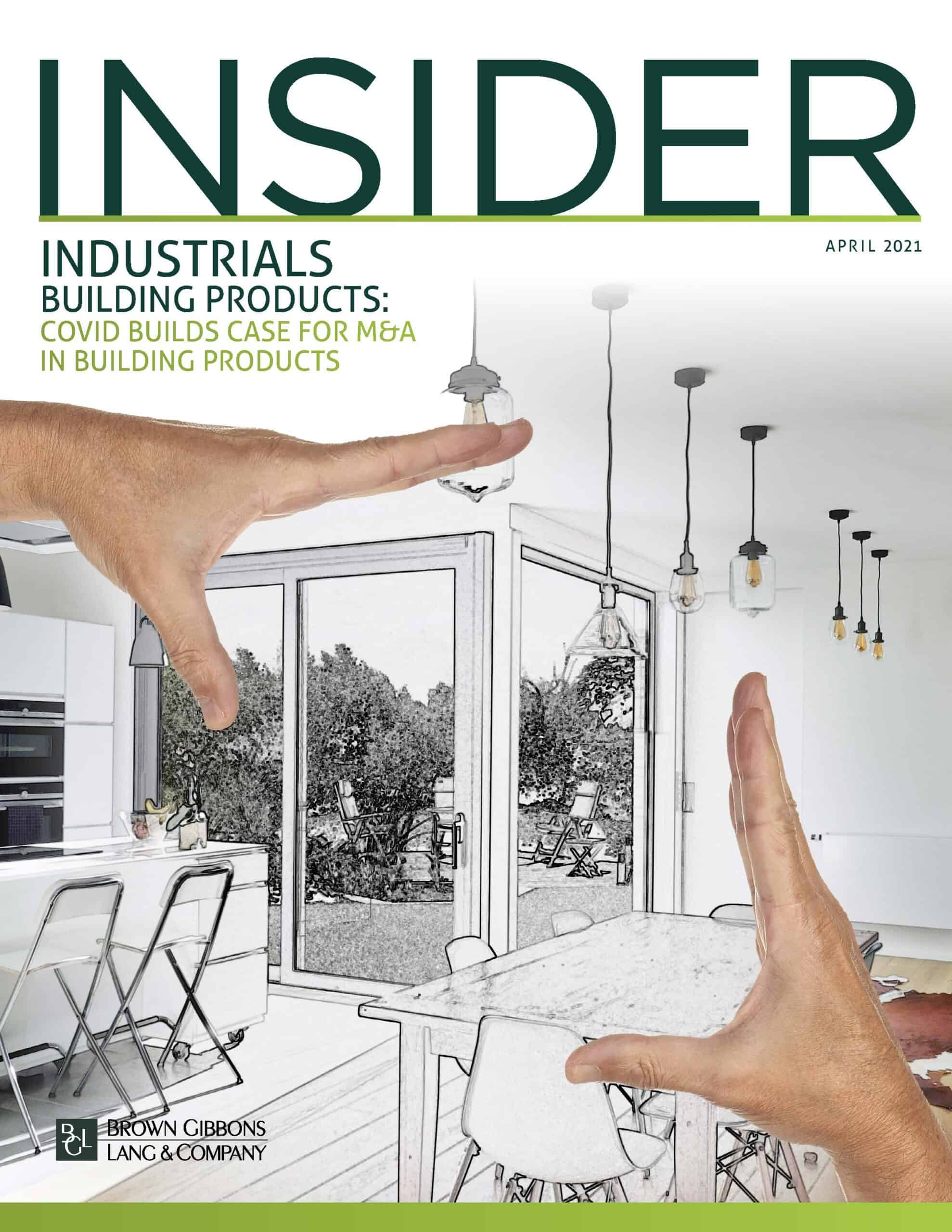 Image for The BGL Industrials Insider – COVID Builds Case for M&A in Building Products Research