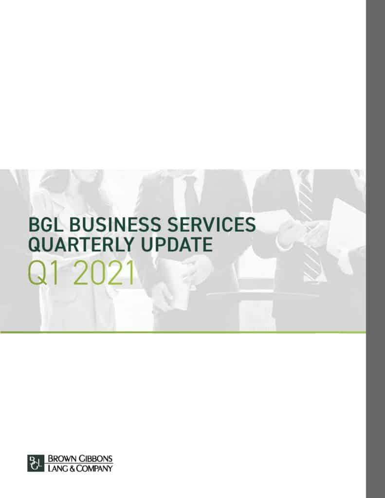 BGL Business Services Quarterly Update Q1 2021 COVER WEB