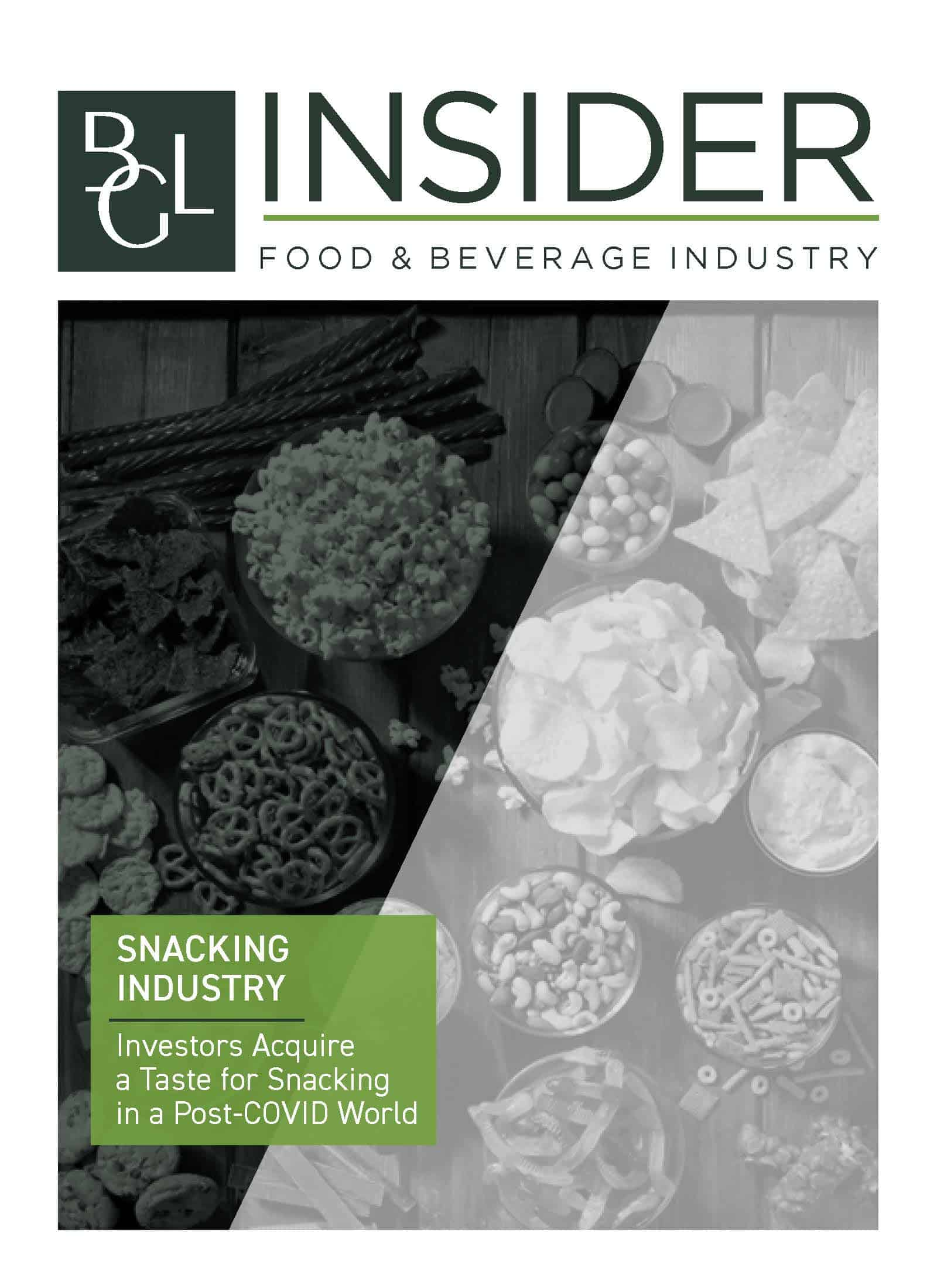 Image for BGL Insider Special Report – Investors Acquire a Taste for Snacking in a Post-COVID World Research