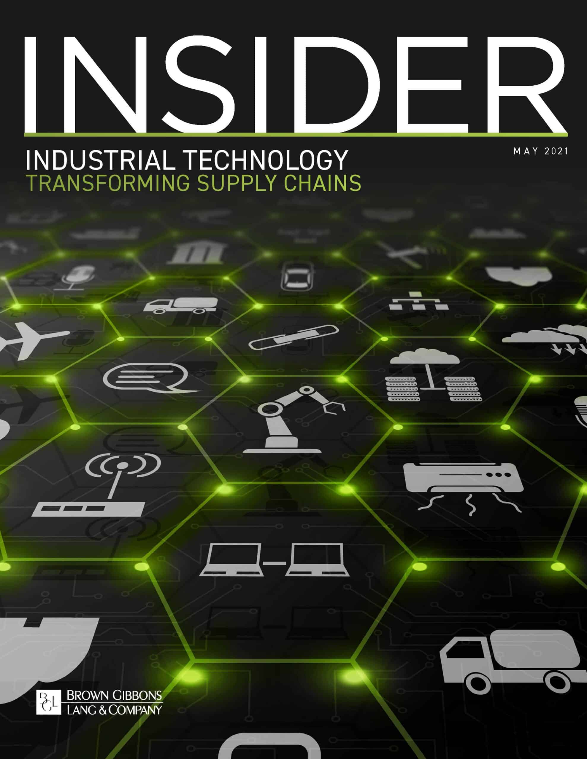 Image for The BGL Industrial Technology Insider – Transforming Supply Chains Research