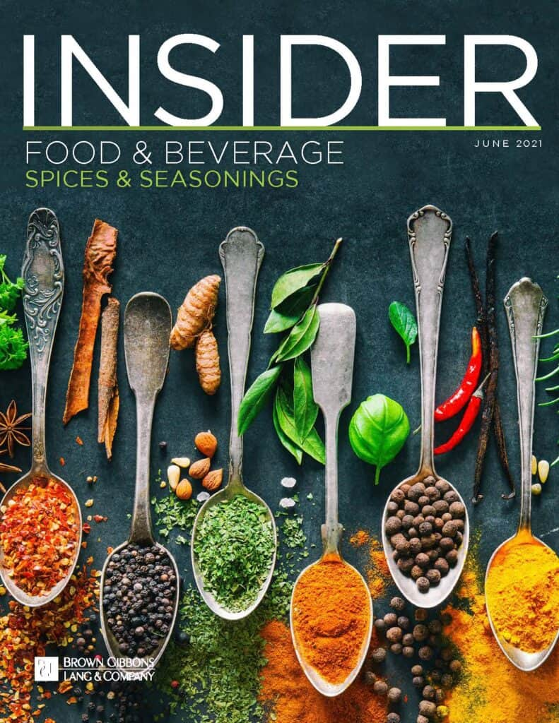 Food Beverage Insider June 2021 COVER