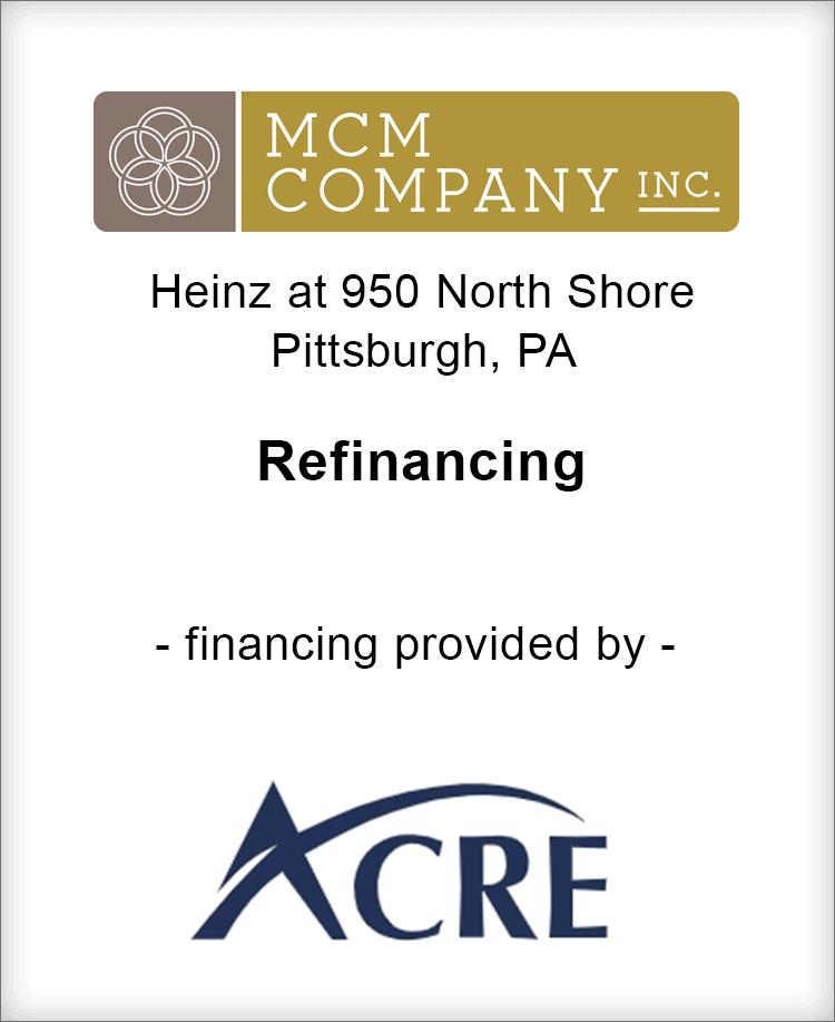 Image for BGL Announces Refinancing of Heinz at 950 North Shore for MCM Company Press Release