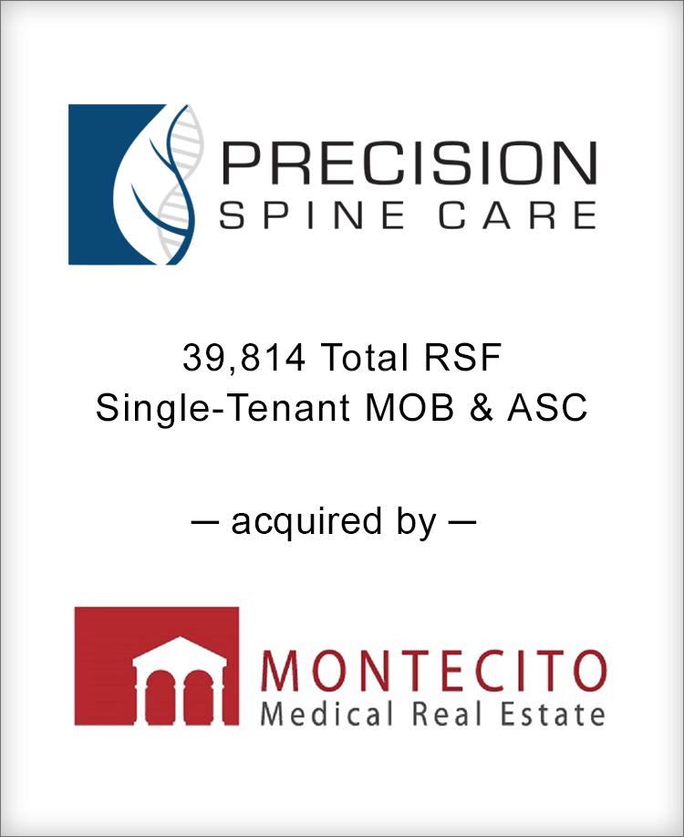 Image for BGL Advises Precision Spine Care Portfolio Transaction