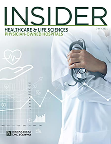 HLS Physician Owned Hospitals Insider COVER