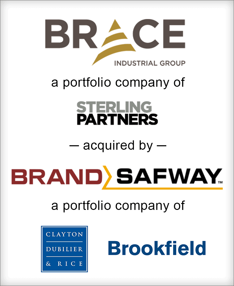 Image for BGL Announces the Sale of Brace Industrial Group, Inc. to BrandSafway Press Release