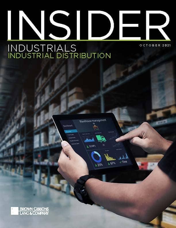 Industrial Distribution Insider October 2021 COVER